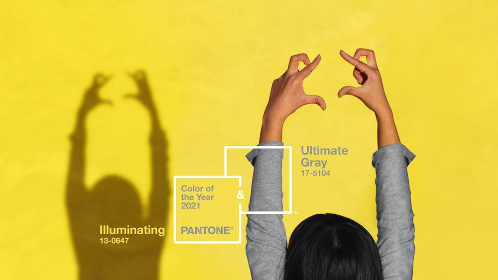 Ultimate Grey and Illuminating Yellow
