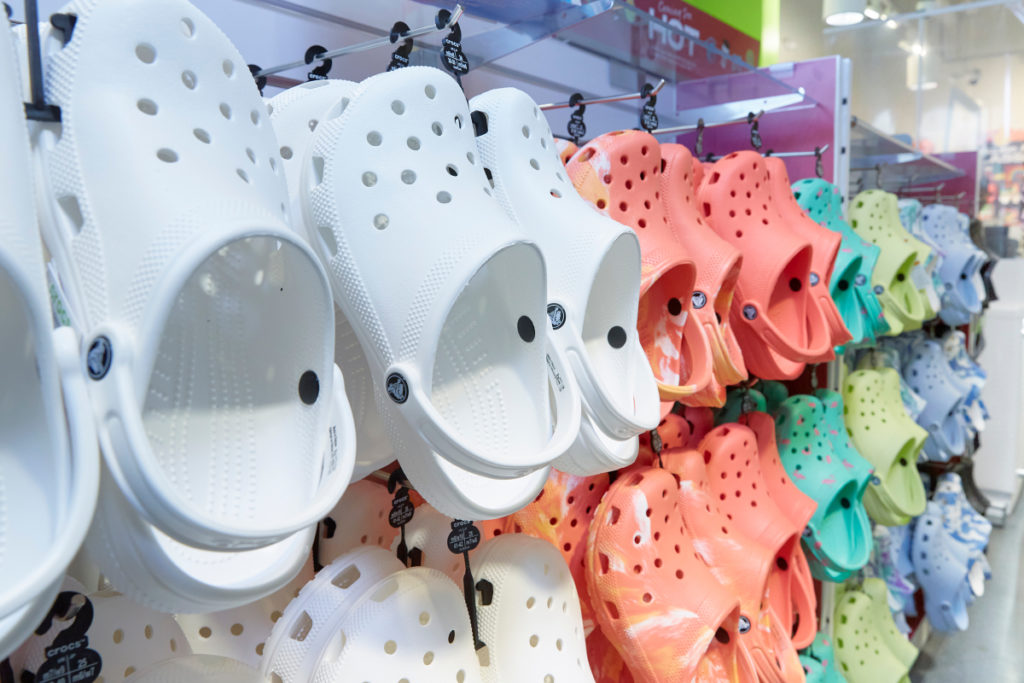 Crocs Takes Legal Action to Knock Out Knockoffs
